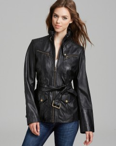 Marc New York Venice Vintage Washed Leather Jacket