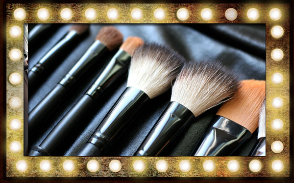 Professional Wedding Hair and Make Up Brushes